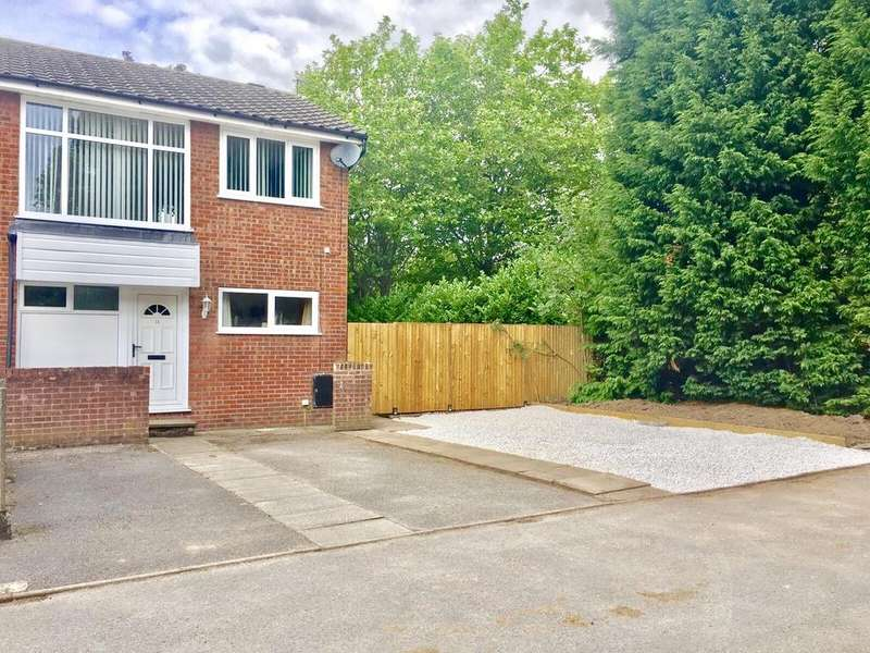 3 Bedrooms Semi Detached House for sale in Chestnut Close, Summerfields, Wilmslow