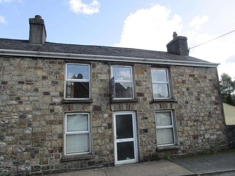 2 Bedrooms Terraced House for sale in Gorof Road, Lower Cwmtwrch, Swansea.