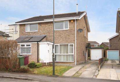 2 Bedrooms Semi Detached House for sale in Coniston Road, Dronfield Woodhouse, Dronfield, Derbyshire