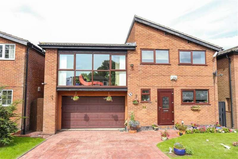5 Bedrooms Detached House for sale in Green Pastures, Heaton Mersey