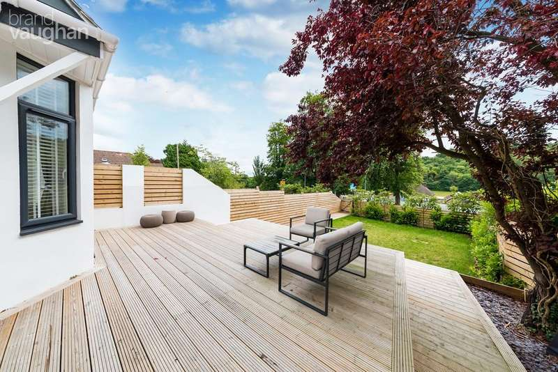 4 Bedrooms Semi Detached House for sale in Tongdean Lane, Withdean, Brighton, BN1