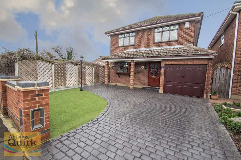 4 Bedrooms Detached House for sale in Barnards Avenue, Canvey Island, SS8