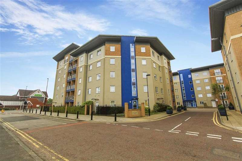 2 Bedrooms Flat for sale in Knightsbridge Court, Gosforth, Newcastle Upon Tyne