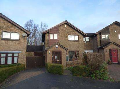 3 Bedrooms Detached House for sale in Medeswell, Furzton, Milton Keynes, Buckinghamshire