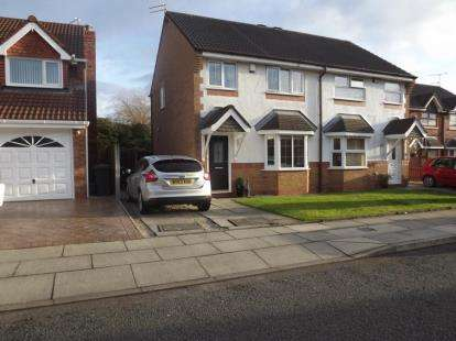 3 Bedrooms Semi Detached House for sale in Satinwood Crescent, Melling, Liverpool, Merseyside, L31