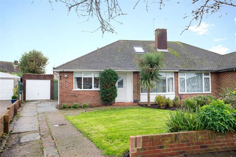3 Bedrooms Bungalow for sale in Rusper Road South, Worthing, West Sussex, BN13 1LG