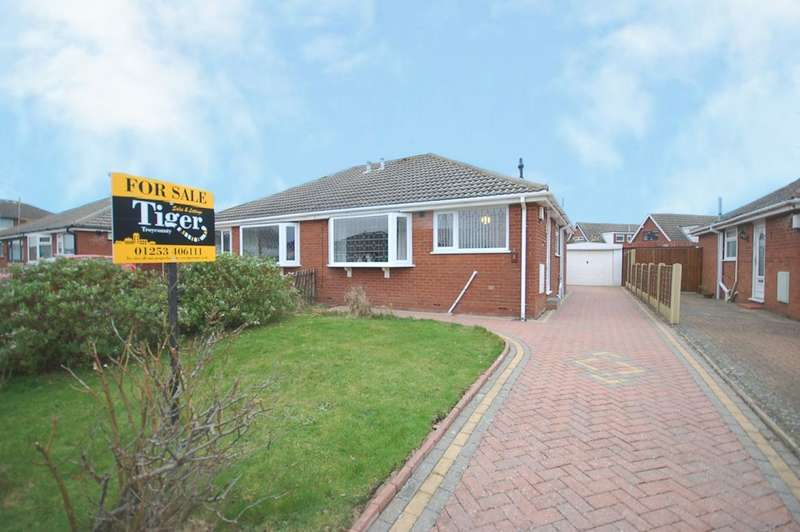 2 Bedrooms Semi Detached Bungalow for sale in Ribblesdale Close, Blackpool