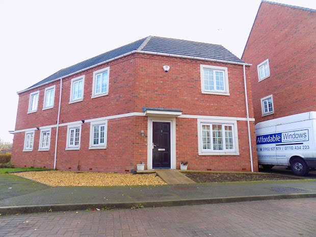 4 Bedrooms Semi Detached House for sale in Donnington Court, Dudley, Dudley, DY1