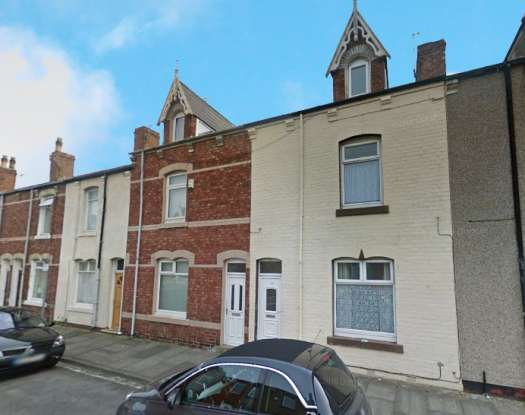 3 Bedrooms Terraced House for sale in Wharton Street, Hartlepool, Durham, TS24 8BQ
