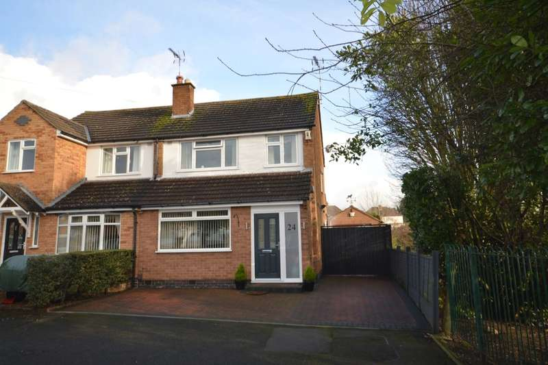 3 Bedrooms Semi Detached House for sale in Glen Rise, Glen Parva, Leicester, LE2