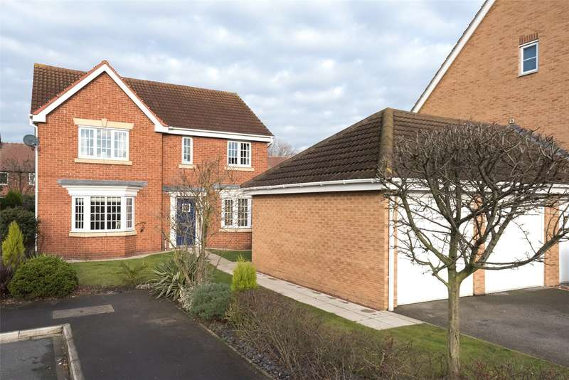 4 Bedrooms Detached House for sale in Abbots Court, Selby, YO8