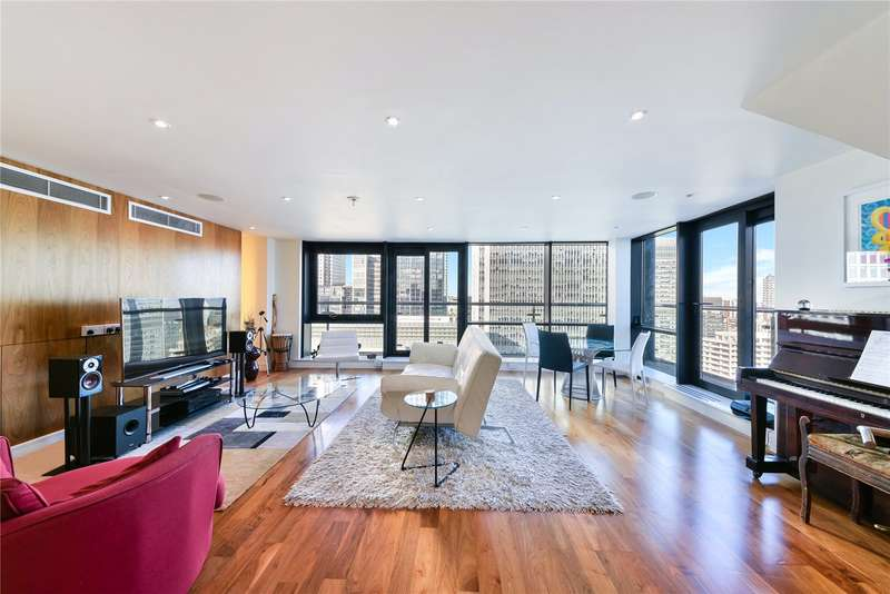 3 Bedrooms Flat for sale in Discovery Dock Apartments, 3 South Quay Square, London, E14