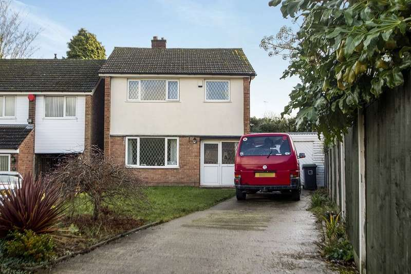 3 Bedrooms Detached House for sale in Norman Drive, Eastwood, Nottingham, NG16