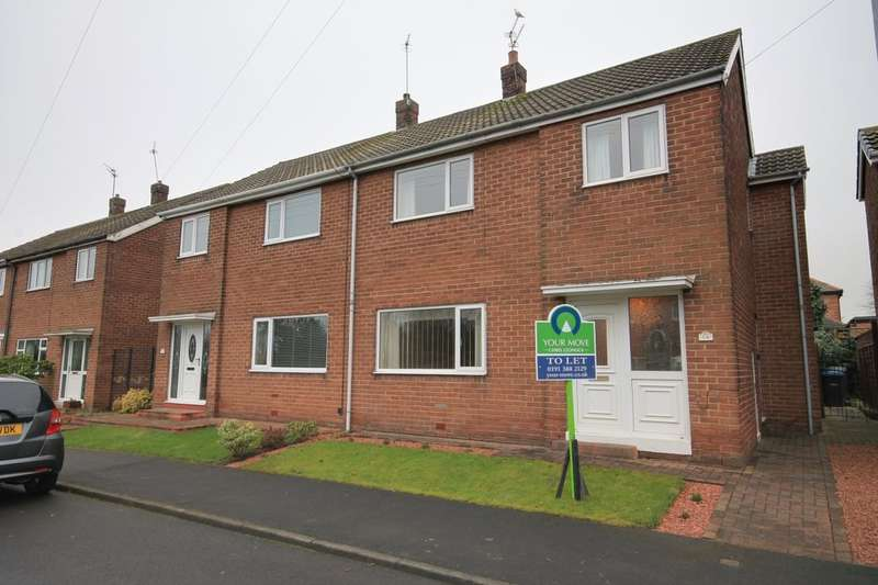 3 Bedrooms Semi Detached House for rent in Beverley Gardens, Chester Le Street, DH3
