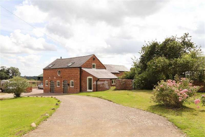 3 Bedrooms Barn Conversion Character Property for sale in Dudleston, Ellesmere, SY12