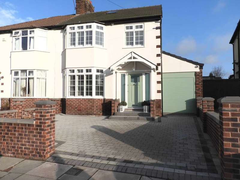 4 Bedrooms Semi Detached House for sale in Hilltop Road, Childwall