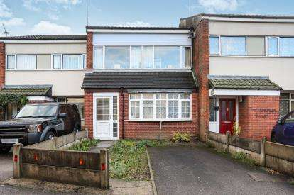3 Bedrooms Terraced House for sale in Tannery Close, Atherstone, Warwickshire