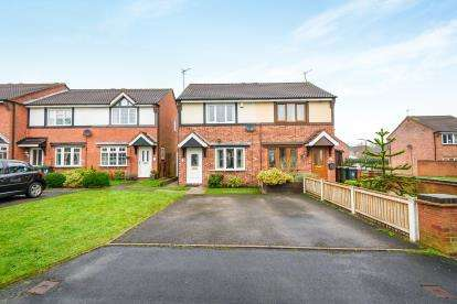 2 Bedrooms Semi Detached House for sale in Trevose Close, Bloxwich, Walsall