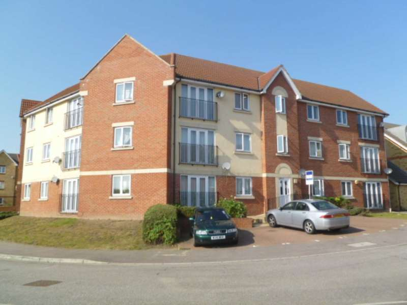 2 Bedrooms Apartment Flat for sale in Teasel Crescent, West Thamesmead, SE28 0LP