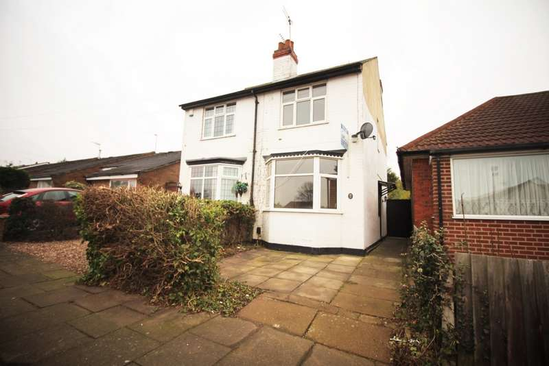 2 Bedrooms Semi Detached House for sale in Radiant Road, Leicester, LE5