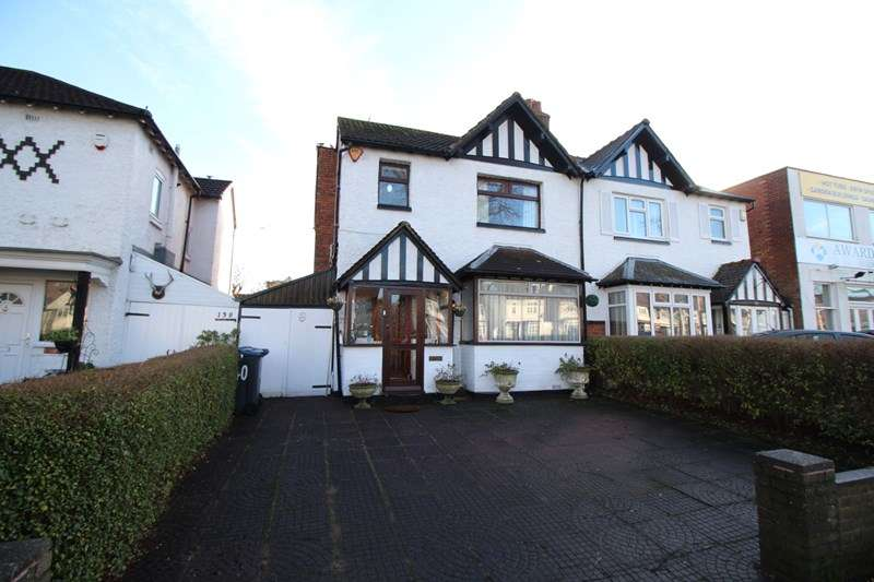 3 Bedrooms Semi Detached House for sale in Highfield Road, Hall Green, Birmingham