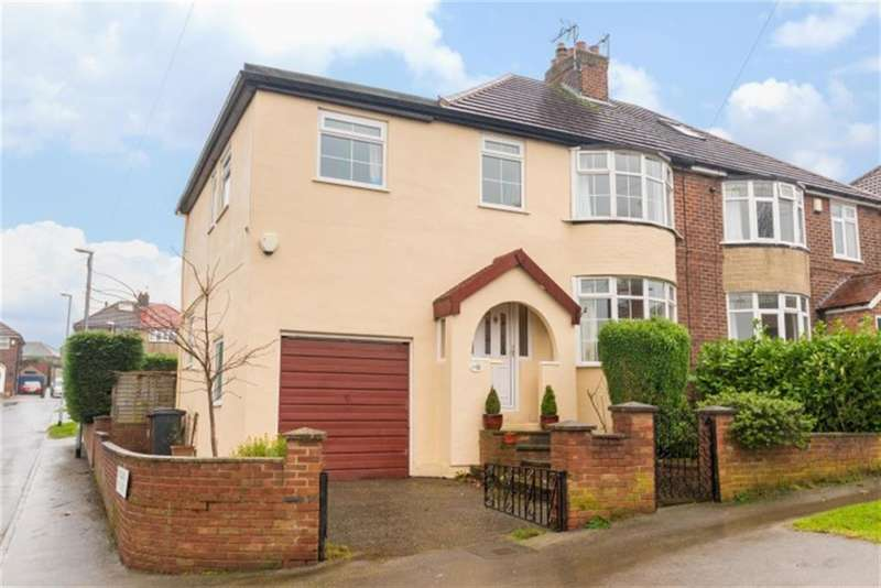 4 Bedrooms Semi Detached House for sale in Woodlands Park Road, Pudsey, LS28