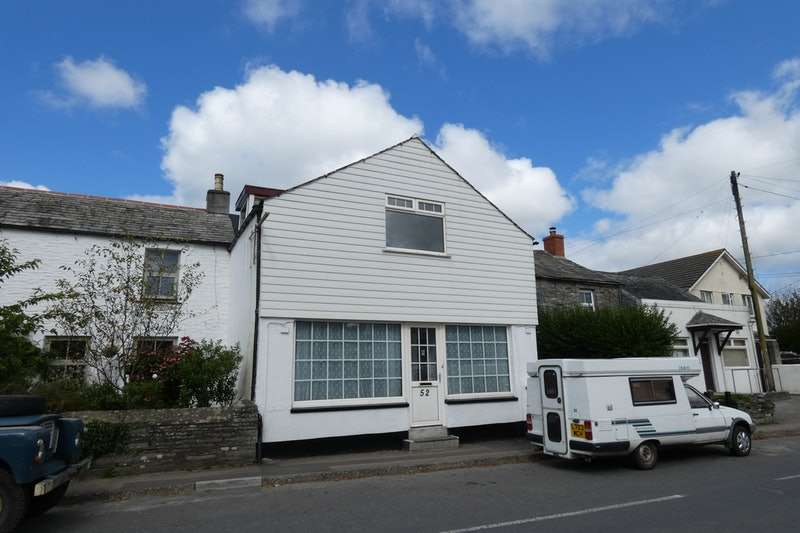 4 Bedrooms Terraced House for sale in High Street, Delabole, Cornwall, PL33