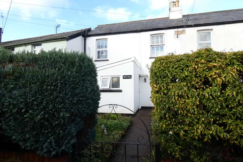 2 Bedrooms Terraced House for sale in Martins Lane, Tiverton, Devon, EX16