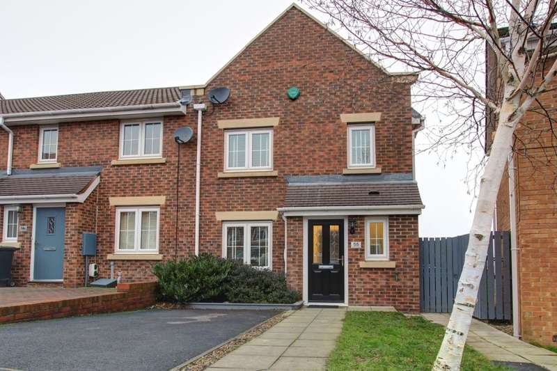 3 Bedrooms Property for sale in Beechwood Close, Sacriston, Durham, DH7