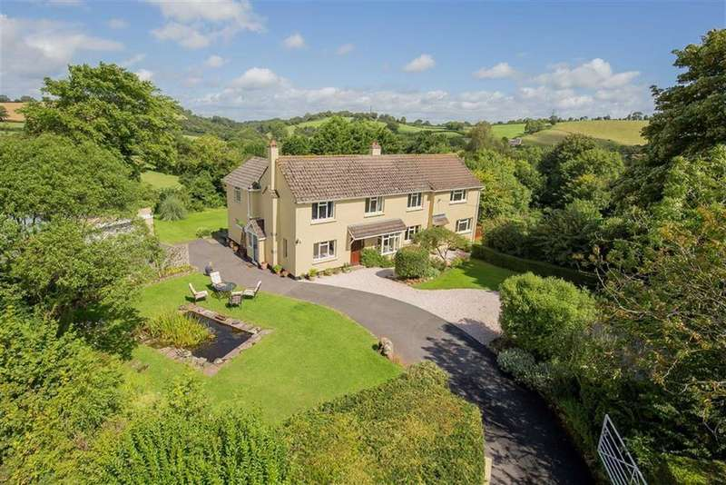 4 Bedrooms Detached House for sale in Compton, Marldon, Devon, TQ3