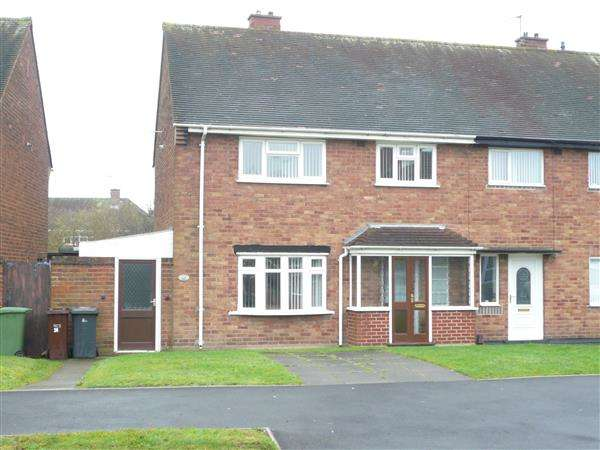 3 Bedrooms Semi Detached House for sale in Brooklands Parade, Wolverhampton