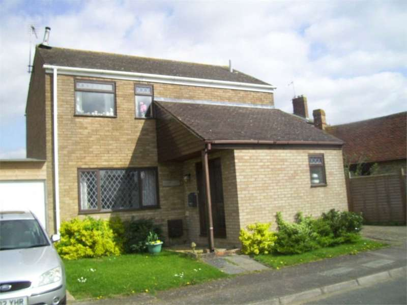 3 Bedrooms Detached House for sale in Western Drive, Hanslope