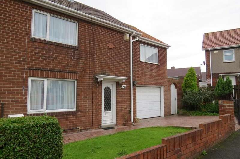 4 Bedrooms Semi Detached House for sale in Woodlea, Newbiggin-By-The-Sea