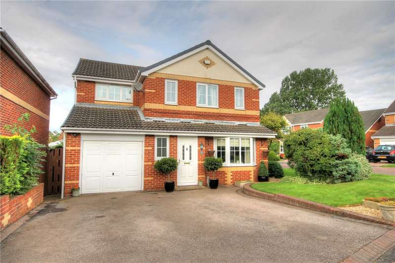 4 Bedrooms Detached House for sale in Startforth Close, Great Lumley, Chester le Street, DH3