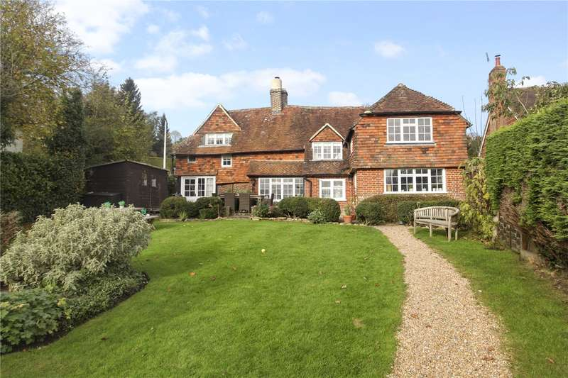 4 Bedrooms Detached House for sale in Brook Road, Sandhills, Godalming, Surrey, GU8