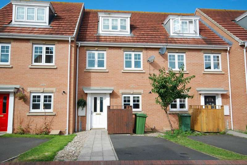 3 Bedrooms Town House for sale in Burnside Close, Boldon Colliery