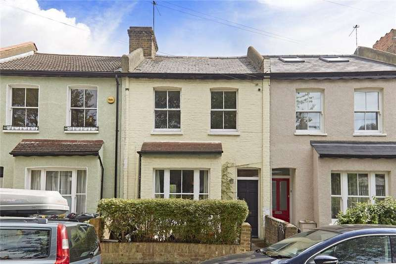 3 Bedrooms Terraced House for sale in Pyrmont Road, Chiswick, London, W4