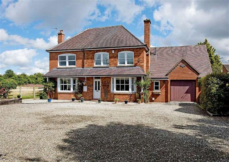5 Bedrooms Detached House for sale in Field Piece, Fox Road, Seisdon, Wolverhampton, South Staffordshire, WV5
