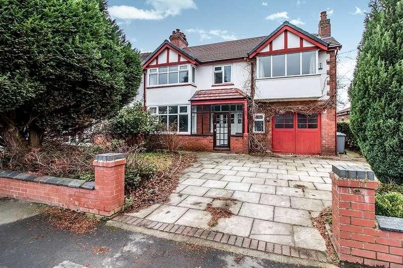 5 Bedrooms Semi Detached House for rent in Winstanley Road, Sale, M33