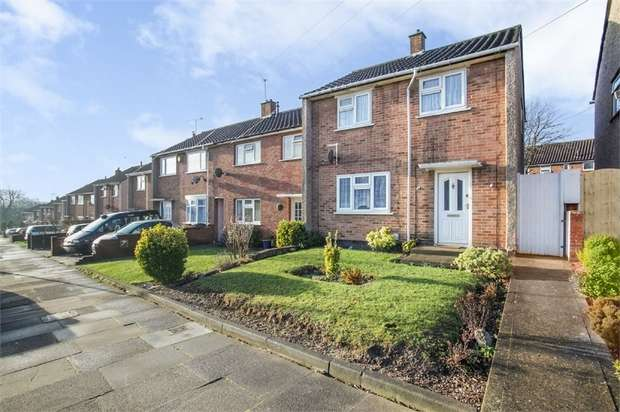 3 Bedrooms End Of Terrace House for sale in Tomlinson Avenue, Luton, Bedfordshire