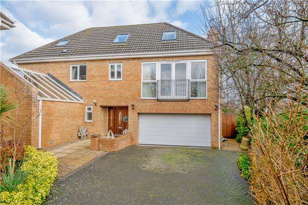 4 Bedrooms Detached House for sale in Savanna, Down Road, Alveston, Bristol, BS35 3JE