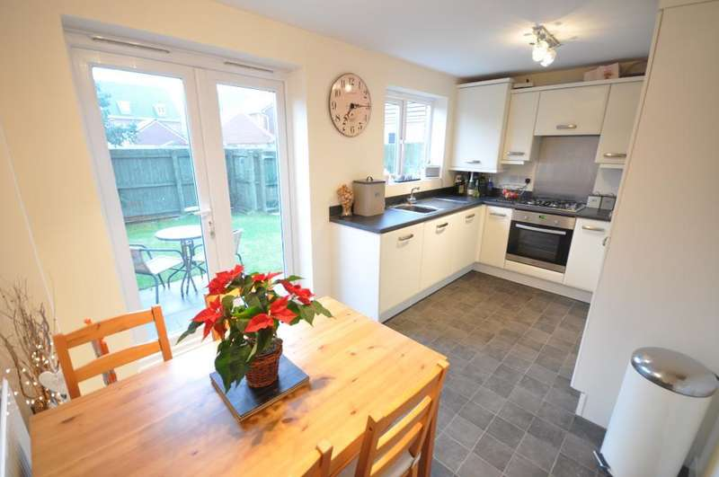 3 Bedrooms Semi Detached House for sale in Bracken Ghyll Close, Buckshaw Village, Chorley, Lancashire, PR7 7FE