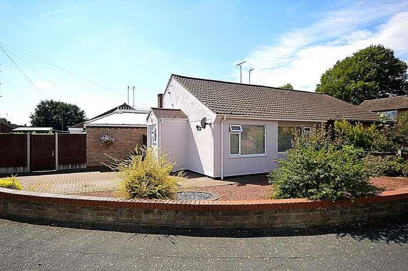 2 Bedrooms Semi Detached Bungalow for sale in Cedar Chase, Heybridge, Maldon, Essex, CM9