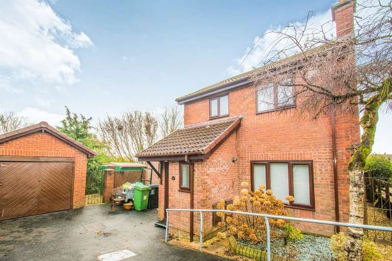 3 Bedrooms Detached House for sale in Thornwood Close, Thornhill, Cardiff