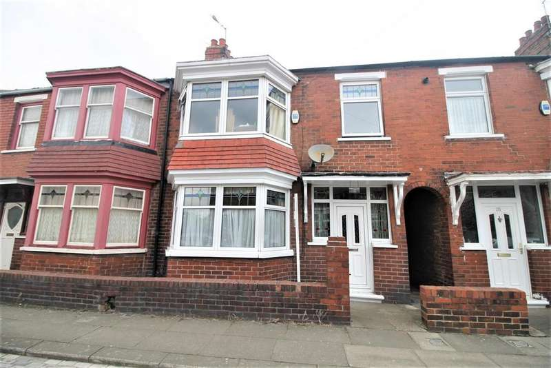 2 Bedrooms Terraced House for sale in Grove Road, Middlesbrough