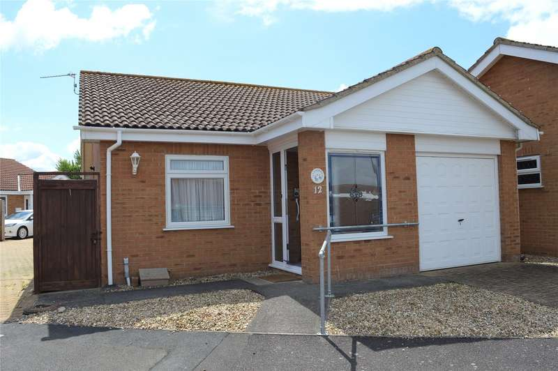 2 Bedrooms Bungalow for sale in Channing Close, Burnham-on-Sea, Somerset, TA8