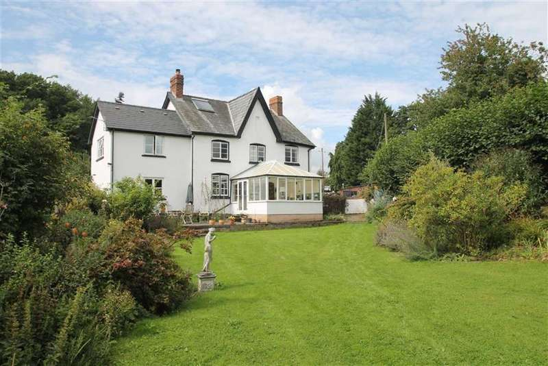 4 Bedrooms Detached House for sale in STAUNTON ON ARROW, Leominster, Herefordshire