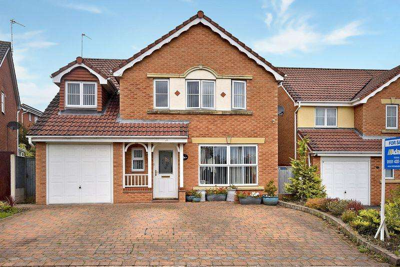 5 Bedrooms Detached House for sale in Jefferson Gardens, Widnes