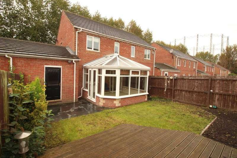 3 Bedrooms House for sale in Abbeyfield Close, Gateshead