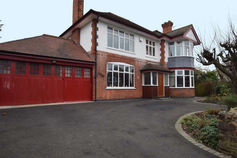 4 Bedrooms Detached House for sale in Ventnor Road, Leicester, LE2 3RN